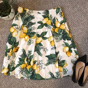 TALBOTS 🍋 Beautiful Full Pleated Midi-Skirt